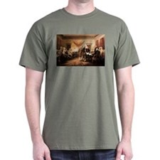 John Trumbull The Declaration of Independence T-Shirt