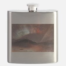 Frederic Edwin Church Aurora Borealis Flask