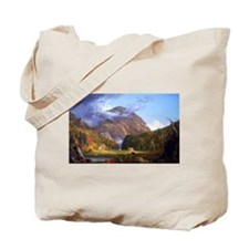 Thomas Cole A View Of The Mountain Pass Tote Bag