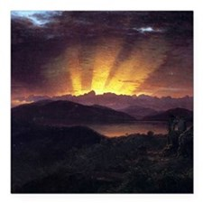 Frederic Edwin Church After The Annealing Square C