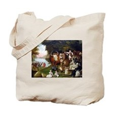 Edward Hicks Peaceable Kingdom Tote Bag