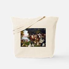 Edward Hicks Peaceable Kingdom Tote Bag