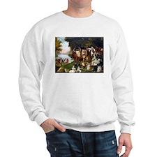 Edward Hicks Peaceable Kingdom Sweatshirt