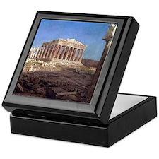 Frederic Edwin Church The Parthenon Keepsake Box