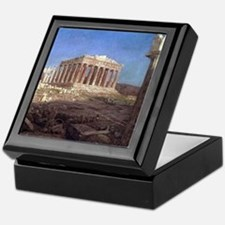 Frederic Edwin Church The Parthenon Keepsake Box