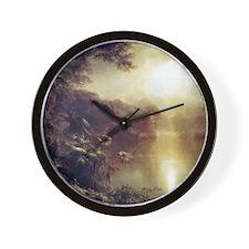 Morning In The Tropics Wall Clock
