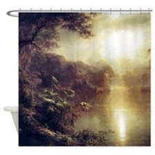 Morning In The Tropics Shower Curtain