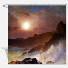 Frederic Edwin Church Coast Scene Shower Curtain