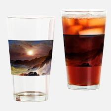 Frederic Edwin Church Coast Scene Drinking Glass