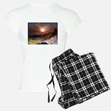 Frederic Edwin Church Coast Scene Pajamas