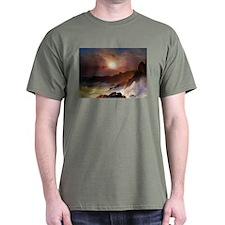 Frederic Edwin Church Coast Scene T-Shirt