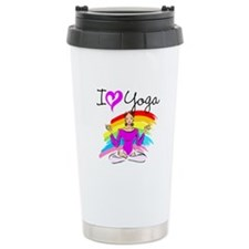 I LOVE YOGA Travel Mug