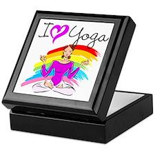 I LOVE YOGA Keepsake Box