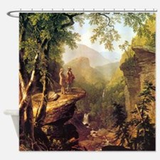 Asher Brown Durand Kindred Spirits Shower Curtain