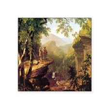 Asher Brown Durand Kindred Spirits Square Sticker