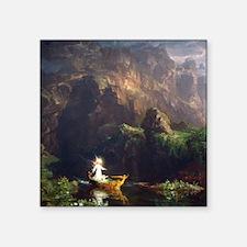 Thomas Cole Voyage Of Life - Childhood Square Stic