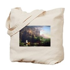 Thomas Cole Voyage Of Life - Childhood Tote Bag