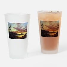Frederic Edwin Church A Sunset Drinking Glass