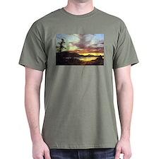 Frederic Edwin Church A Sunset T-Shirt