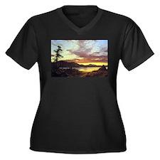 Frederic Edwin Church A Sunset Women's Plus Size V