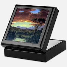 Frederic Edwin Church A Rural Home Keepsake Box