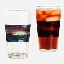 Frederic Edwin Church A Rural Home Drinking Glass