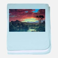 Frederic Edwin Church A Rural Home baby blanket