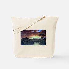 Frederic Edwin Church A Rural Home Tote Bag