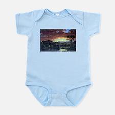 Frederic Edwin Church A Rural Home Infant Bodysuit