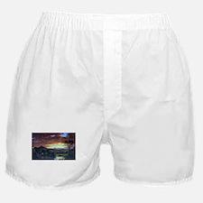 Frederic Edwin Church A Rural Home Boxer Shorts