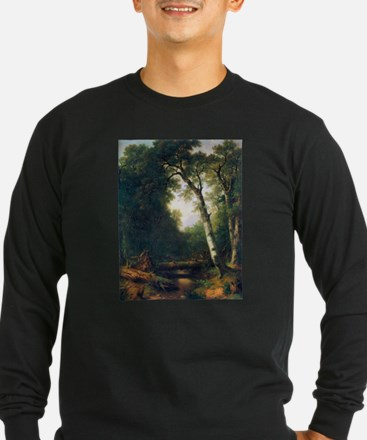 A creek in the woods T