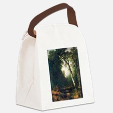 A creek in the woods Canvas Lunch Bag