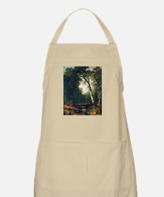 A creek in the woods Apron