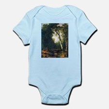 A creek in the woods Infant Bodysuit