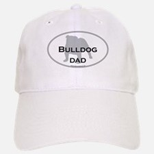 Bulldog DAD Baseball Baseball Cap