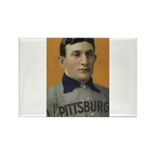 Honus Wagner Rectangle Magnet