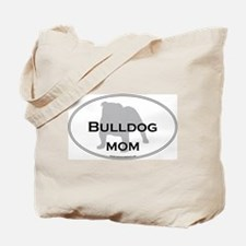 Bulldog MOM Tote Bag