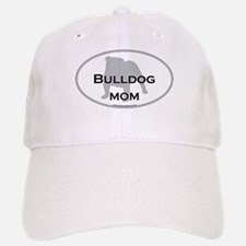 Bulldog MOM Baseball Baseball Cap
