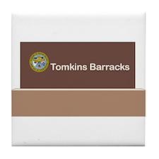 Tompkins Barracks Tile Coaster