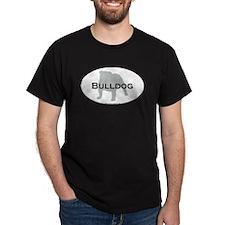 Bulldog Black T-Shirt