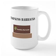 Tompkins Barracks with Text Mug