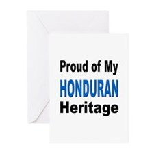 Proud Honduran Heritage Greeting Cards (Package of
