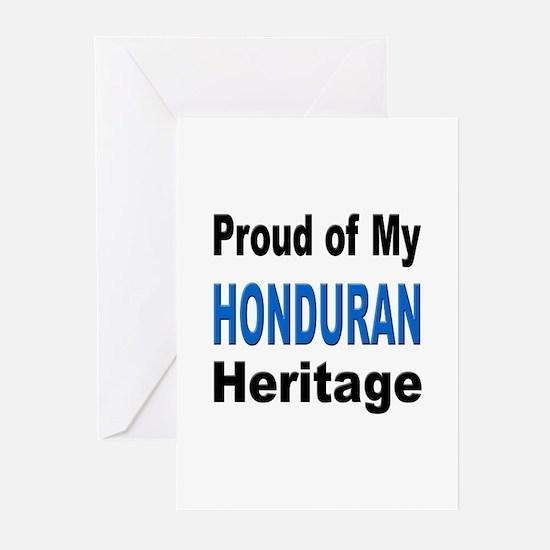 Proud Honduran Heritage Greeting Cards (Package of
