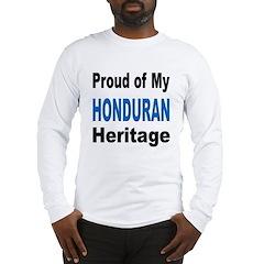 Proud Honduran Heritage Long Sleeve T-Shirt