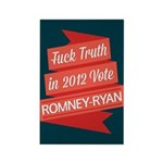 GOP Fuck Truth Rectangle Magnet