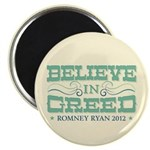 """Believe in Greed 2.25"""" Magnet (100 pack)"""