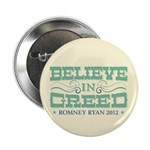 """Believe in Greed 2.25"""" Button (100 pack)"""