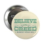 """Believe in Greed 2.25"""" Button"""