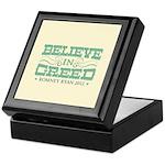 Believe in Greed Keepsake Box