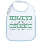 Believe in Greed Bib